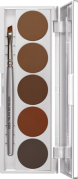 Eyebrow Powder Palette 5 Colors