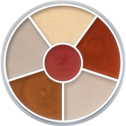 Cream Color Circle Interferenz